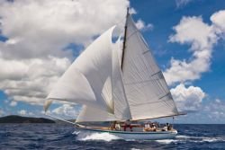 New Moon, a traditional Carriacou sloop