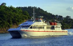 The Osprey Ferry makes daily trips between Carriacou and Grenada, click here for their website