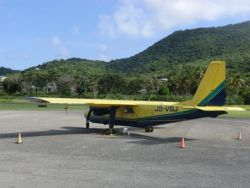 SVG at the Carriacou airport